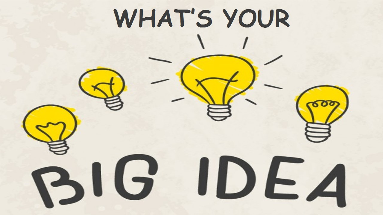 Alternative careers - Image of 4 bulbs and one glowing bulb.... What's Your Big Idea