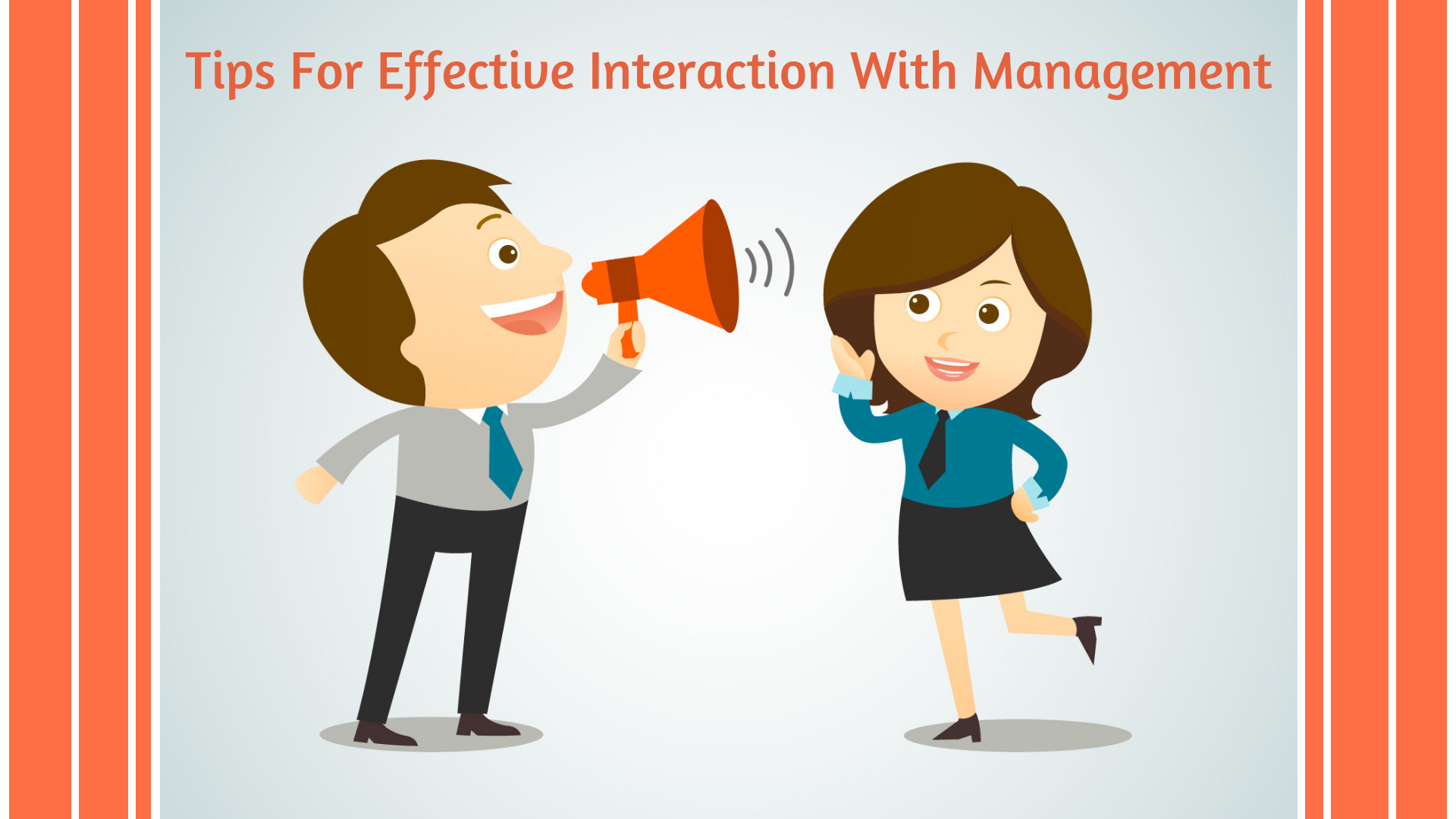 Tips for effective interaction with management